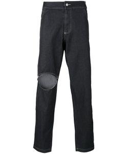 Telfar | Loose Ripped Jeans S
