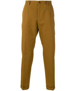 Dolce & Gabbana | Classic Chino Trousers 52 Cotton/Spandex/Elastane