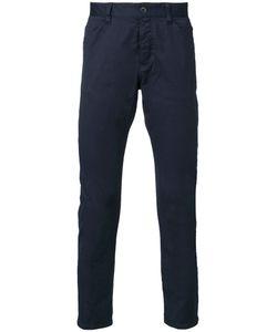 KAZUYUKI KUMAGAI | Straight-Leg Trousers 3 Cotton/Nylon/Polyurethane