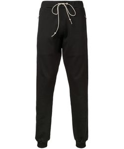 Mr. Completely | Zipped Pockets Drawstring Sweatpants Small Cotton