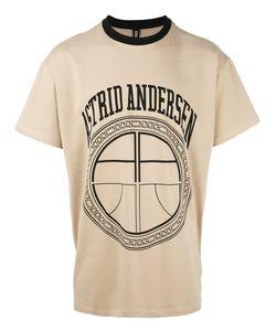 Astrid Andersen   Classic Contrasting Neckline T-Shirt Small Cotton/Spandex/Elastane