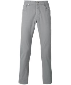 Brunello Cucinelli | Slim-Fit Trousers 48 Cotton/Spandex/Elastane/Polyester