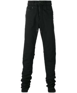 Diesel Black Gold | Drawstring Slim-Fit Jeans 31 Cotton/Polyester/Spandex/Elastane
