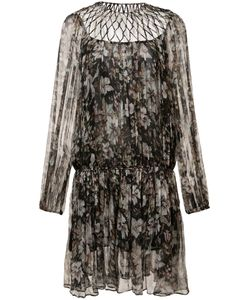 Zimmermann | Gossamer Lattice Drawn Dress 0 Acetate