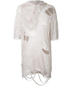 Maison Mihara Yasuhiro | Distressed Knit T-Shirt Size