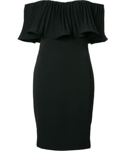 Badgley Mischka | Off-Shoulder Dress 6 Polyester/Spandex/Elastane