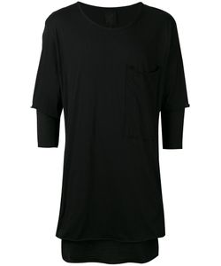 THOM KROM | Half Sleeve Layered Top Size Medium
