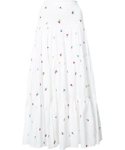 Suno | Embroide Maxi Skirt 4 Cotton