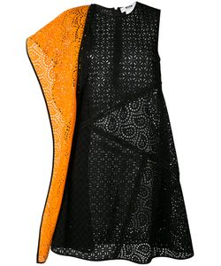 MSGM | Broderie Anglaise Contrast Dress