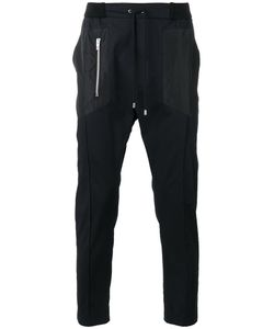Les Hommes Urban | Drawstring Track Pants 50 Cotton/Spandex/Elastane/Polyester