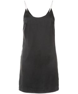 AMIRI | Платье-Комбинация На Цепочке С Вырезом Ковш