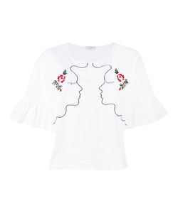 Vivetta | Embroidered Face T-Shirt
