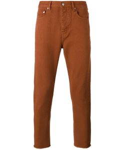 Golden Goose | Deluxe Brand Frayed-Edge Trousers 31 Cotton