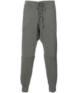 GREG LAUREN | Button Detail Sweatpants Size