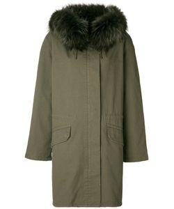 ARMY YVES SALOMON | Свободная Куртка С Меховым Воротником