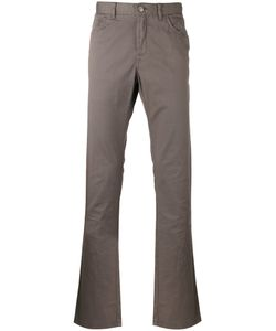 Brioni | Tape Trousers 34 Cotton/Spandex/Elastane/Polyester