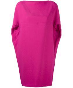 Gianluca Capannolo | Shortsleeved Dress 42 Acetate/Viscose