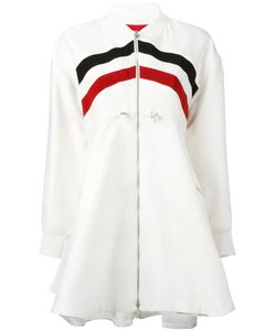 Moncler Gamme Rouge | Striped Flared Coat