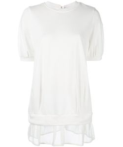 Moncler | Sheer Hem Knitted T-Shirt