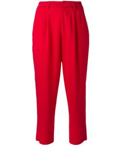 Aviù | High Waisted Cropped Trousers Size 38