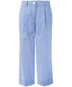 P.A.R.O.S.H. | P.A.R.O.S.H. Striped Wide Leg Trousers