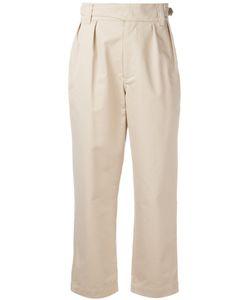 Maison Kitsune | Maison Kitsuné High-Waisted Trousers Size