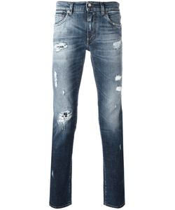 Dolce & Gabbana | Distressed Jeans Mens Size 48 Cotton/Spandex/Elastane