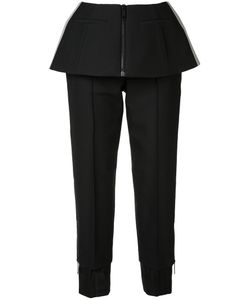 Vera Wang | Trousers With Peplum 0 Nylon/Wool/Silk/Cotton