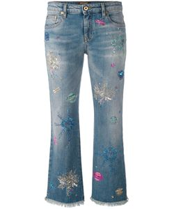 Roberto Cavalli | Light-Wash Cropped Jeans