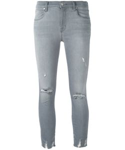 J Brand | Distressed Cropped Jeans