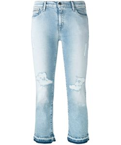 Calvin Klein Jeans | Ripped Cropped Jeans Size 24