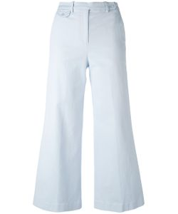 Theory | Wide Leg Cropped Trousers