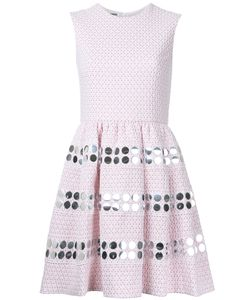 JOURDEN | Embellishment Fla Dress 40 Cotton/Polyamide/Polyester Fibre