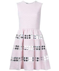 JOURDEN | Embellishment Fla Dress 36 Cotton/Polyamide/Polyester Fibre