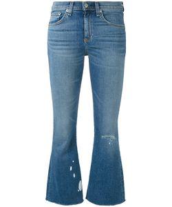 Rag & Bone/Jean | Rag Bone Jean Flared Cropped Jeans
