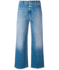 Closed | Frayed Wide Leg Jeans