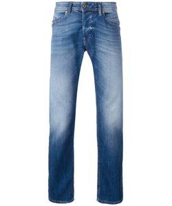 Diesel | Straight Leg Jeans 34/32 Cotton/Spandex/Elastane