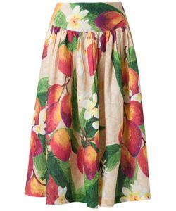 Isolda | Flared Midi Skirt