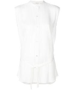 Helmut Lang | Рубашка С Воротником Мандарин Под Пояс