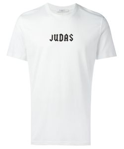 Givenchy | Judas Slogan T-Shirt Small Cotton