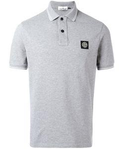 Stone Island | Logo Patch Polo Shirt Small Cotton/Spandex/Elastane