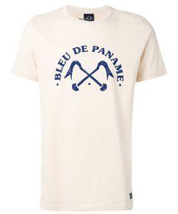 Bleu De Paname | Printed Logo T-Shirt Size Xl