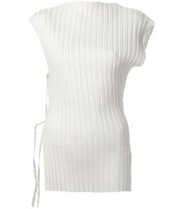 JACQUEMUS | Ribbed Blouse 40 Wool