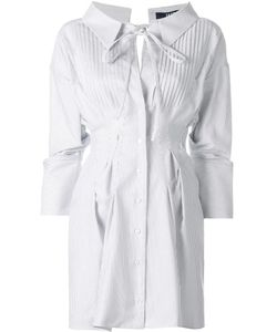 JACQUEMUS | Gathe Shirt Dress 38 Cotton/Linen/Flax