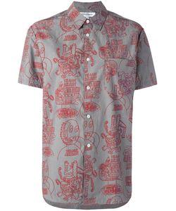 Comme Des Garcons | Comme Des Garçons Shirt Printed Shirt Medium Cotton