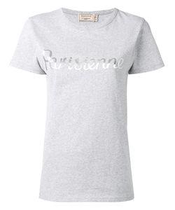 Maison Kitsune   Maison Kitsuné Parisienne Print T-Shirt Xs Cotton