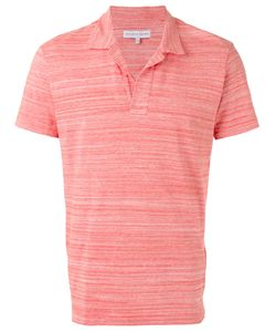 Orlebar Brown | Stylised Stripes Polo Shirt Size Small