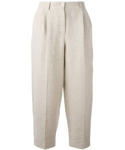 Nehera   Pleated Detail Cropped Trousers Size 36