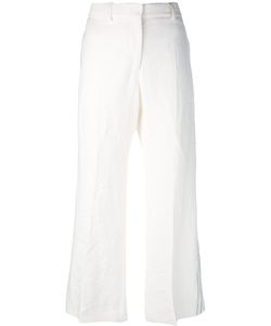 Calvin Klein Collection | Wide Leg Cropped Trousers