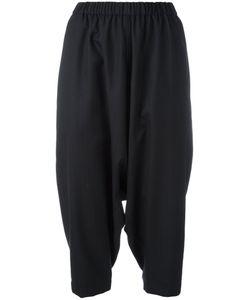 COMME DES GARCONS COMME DES GARCONS | Comme Des Garçons Comme Des Garçons Cropped Drop-Crotch Trousers